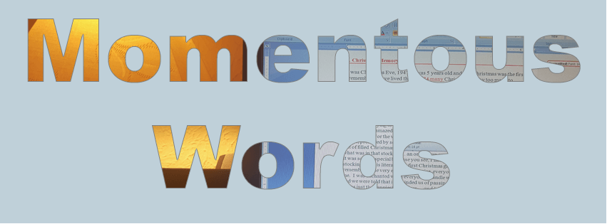 Momentous Words logo only